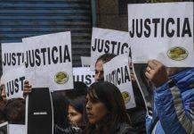 Manifestación Justicia por AMIA