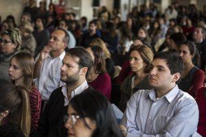 Presentación de Justicia 2020 en la sede Costanera Sur por Germán Garavano