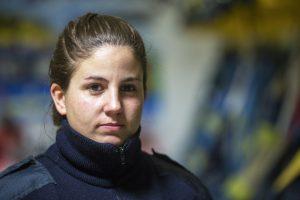Jessica Cristalli, Bomberos Voluntarios de la Boca, La Boca, C.A.B.A.