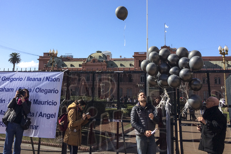 18-J en Plaza de Mayo