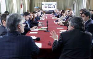 El subsecretario de Asuntos Registrales, Martín Borelli, encabezó la reunión