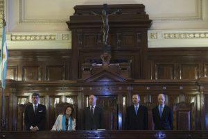 Nuevamente, cinco jueces integran el máximo tribunal