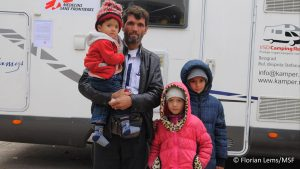 Junto a familias de refugiados, uno de los conflictos activos