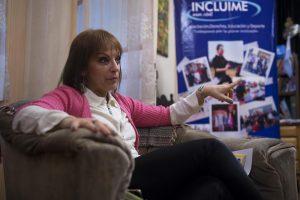 Nota a Laura Rodriguez, presidente de la asociación civil Incluime.