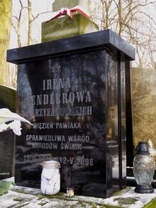 The_grave_of_Irena_Sendler_in_Powązki_