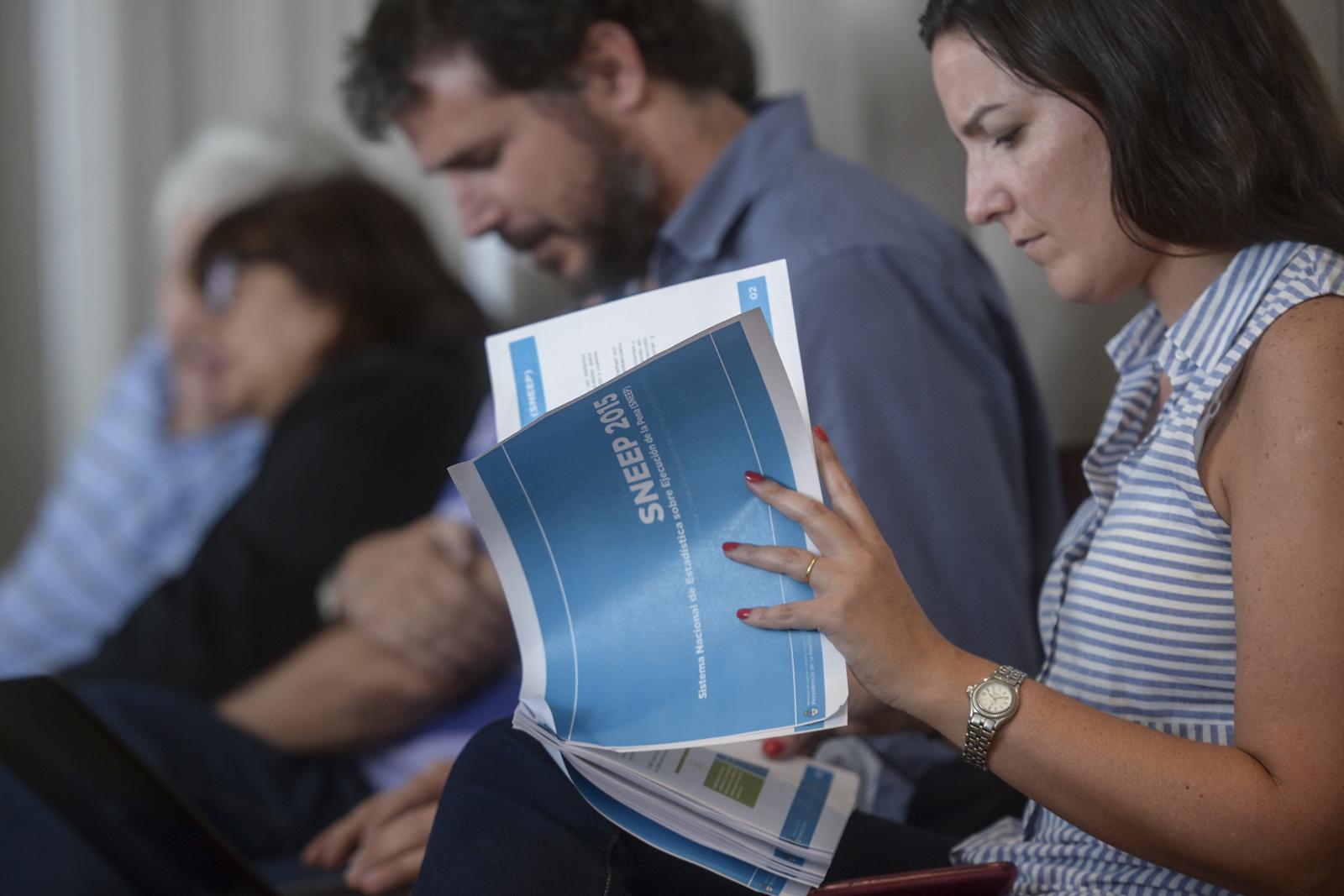 Presentación del Sistema Nacional de Estadísticas sobre Ejecución de la Pena (SNEEP). Ministerio de Justicia de la Nación.