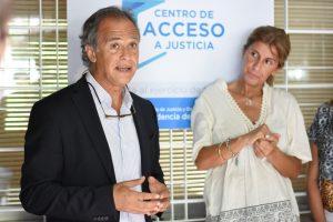 Mauricio Devoto en el CAJ Monte Grande