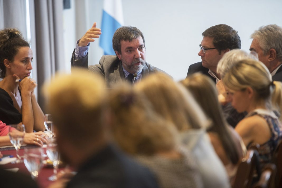 Miguel Cillero Bruñol ante legisladores