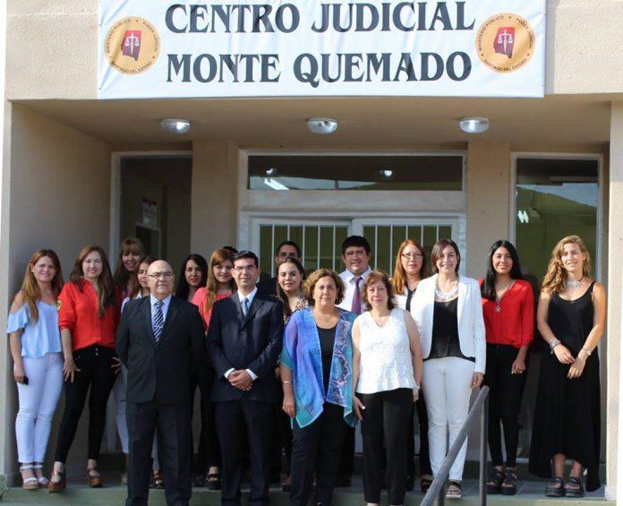Monte quemado - Poder Judicial