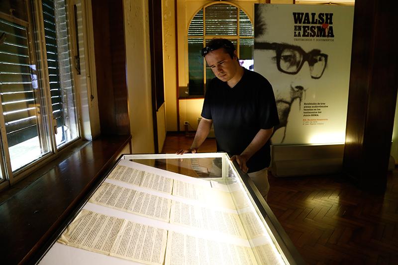 Walsh en la ESMA