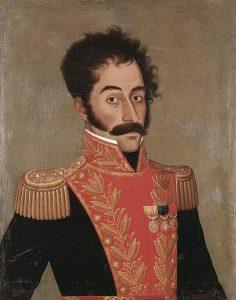 Simón Bolivar, por José Gil de Castro