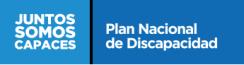 Plan nacional de Discapacidad - Logo