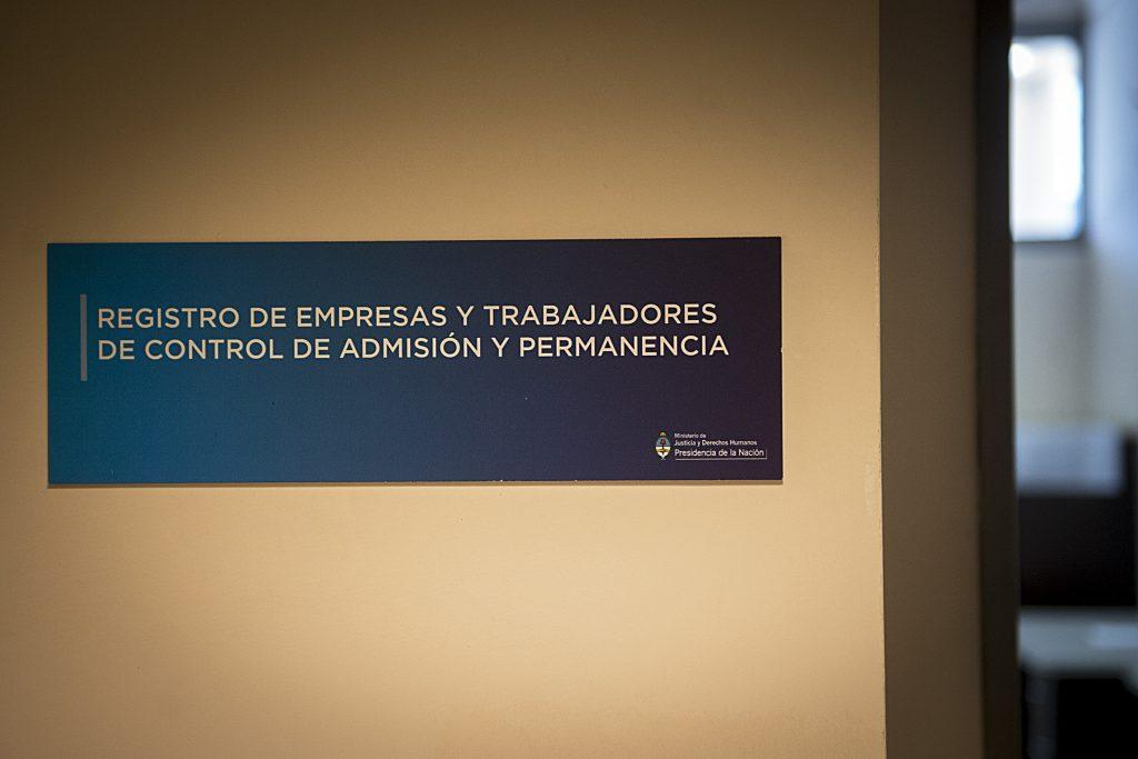 Dirección Nacional del Registro de Empresas y Trabajadores de Control de Admisión y Permanencia (RENCAP).